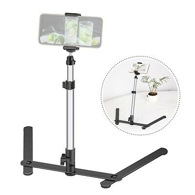 Neewer Photo Copy Stand Pico Projector Stand Webcam Stand with Phone Clamp