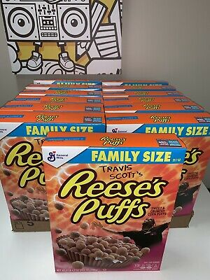 Travis Scott x Reese's Puffs Limited Edition 20.7oz Family Size Box