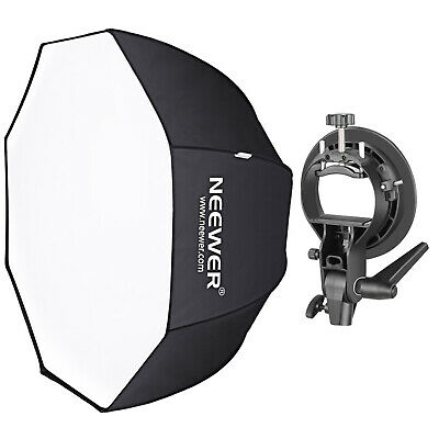 Neewer 48 inches/120 centimeters Octagonal Softbox with S-Type Bracket Holder