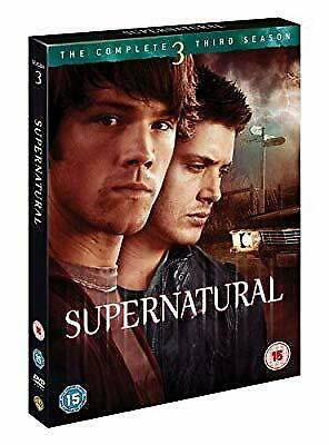 Supernatural - The Complete Third Season [DVD] [2008], , Used; Good DVD