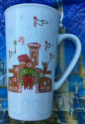 Starbucks - Disneyland Gingerbread Christmas Coffee Mug - 2017 - NO LID