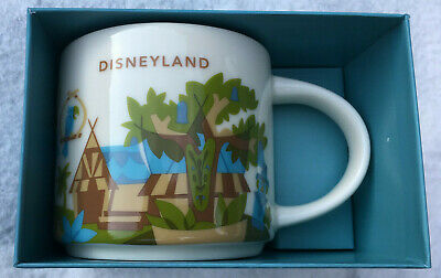 Starbucks - Disneyland Coffee Mug - YAH - You Are Here - NEW