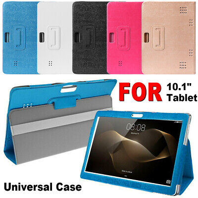Universal 10.1 inch Folio Leather Stand Cover Case For Amazon Android Tablet PC~