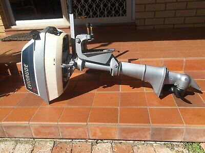 Evinrude 4hp outboard motor As new used twice