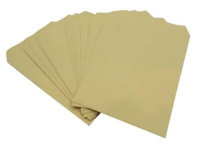 C5 Envelopes Manilla Plain 80gsm Self Seal Strong A5 Brown Envelope Pack