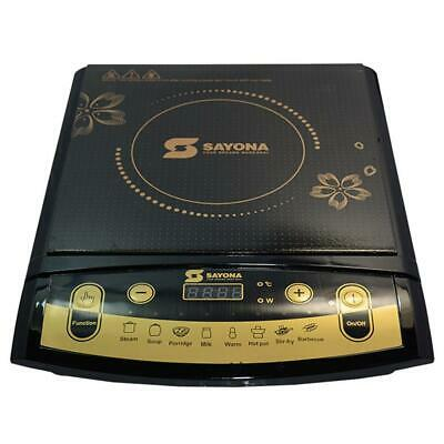 SAYONA 2500W Burner Digital Induction Hob Portable Electric Cooker Touch Pannel