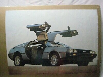 De Lorean Dmc Vintage Poster Bar Garage Man Cave 1983 Car Cng923