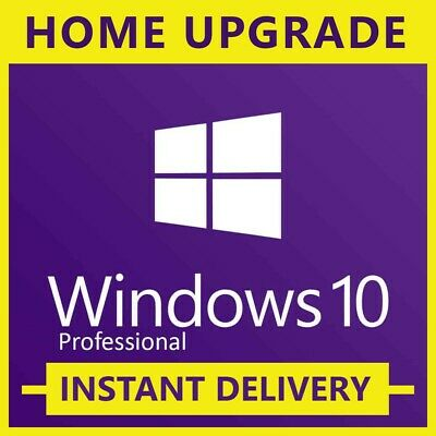 Windows 10 Pro Retail Key - Windows 10 Home to Pro Upgrade key Instant delivey