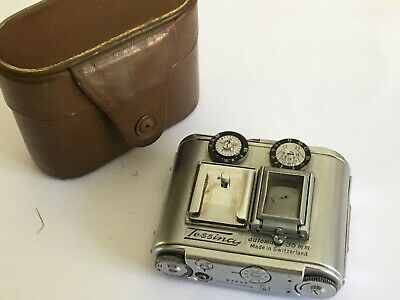 Rare Swiss Made Cased Tessina Automatic subminiature 35mm camera Well Engineerd