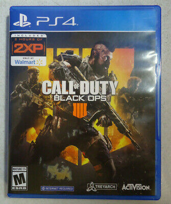 (RI5) Call of Duty: Black Ops 4 (PlayStation 4, 2018)