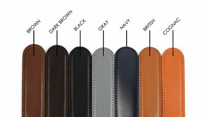 Genuine Leather Belt Cut to Size Several Colors Fits Ratchet Buckle