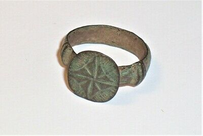 Late Medieval / Post Medieval Bronze finger ring