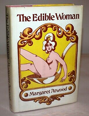The Edible Woman SIGNED Margaret Atwood 1st US COOL EXTRAS Handmaids Tale author