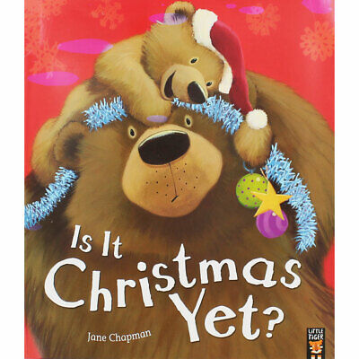 Is It Christmas Yet by Jane Chapman (Paperback), Children's Books, Brand New