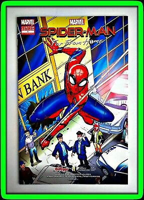 New Rare Mint Spider-Man Marvel Far From Home Custom Edition #1 Comic Spiderman