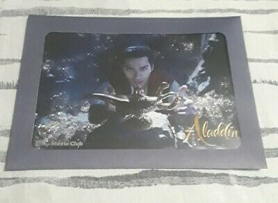 Aladdin 2019 Live Action DMC Exclusive Lithograph