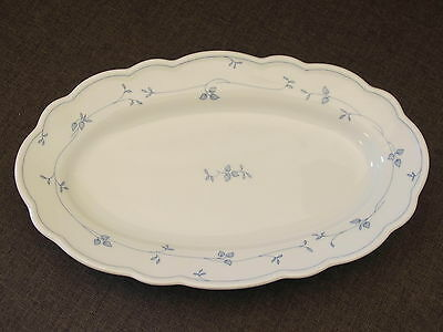 HUTSCHENREUTHER   MARIA THERESIA  SEEHOF BLAU  Platte oval 30,5 cm