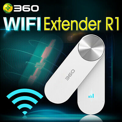 360 WiFi Extender R1Wireless Network Wifi Amplifier Repeater Signal Booster CALY