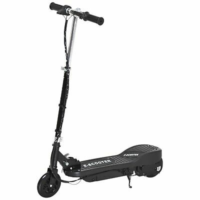 HOMCOM Kids Electric Scooter Folding 7-14 Battery Adjustable Height PU Wheels
