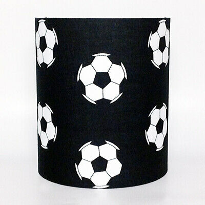 Black Football, Medium Fabric Light Shade