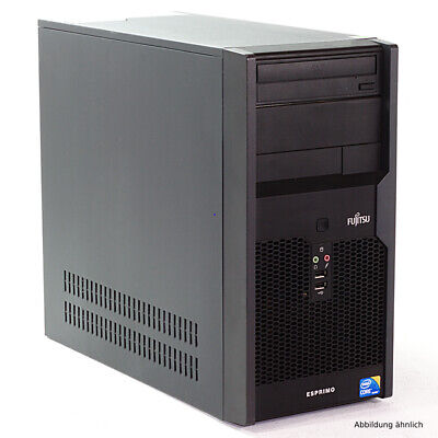 Fujitsu Esprimo P3721E Minitower PC Core i3 550 3,2GHz 250GB HDD 4GB RAM DVD-ROM
