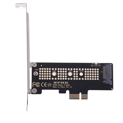 NVMe PCIe x4 x2 M.2 NGFF SSD to PCIe x1 converter card adapter PCIe x1 to M.2 YJ