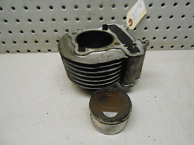 W2 2017 Wolf Jet Classic Black Scooter OEM Engine Barrel and Piston