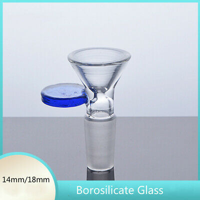 14mm Borosilicate Glass Joint Male Glass Bowl for hookah glass bong water pipe