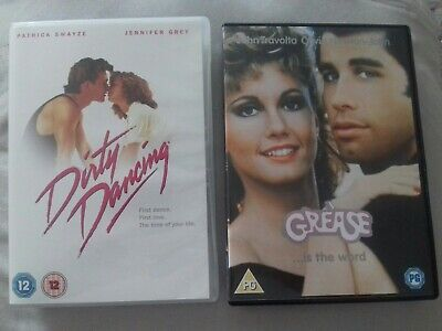 Dirty Dancing & Grease Dvds