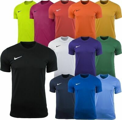 Nike Mens T-Shirt Short Dri-Fit Park Football Jersey Sports Training Top S--XXL