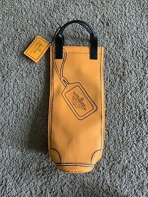 Veuve The Clicquot Yellow Champagne Bottle Travel Carry Bag Tote Cooler Sleeve