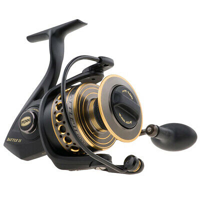 Penn Battle II BTLII5000 Spinning Fishing Reel - Right or Left Hand Retrieve