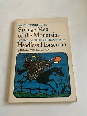 1975 Strange Men Of The Mountains Headless Horseman Scholastic Softcover