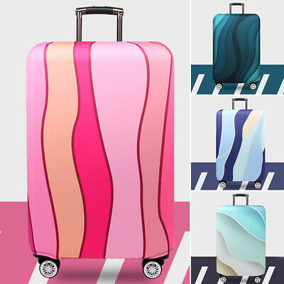 Durable Suitcase Cover Protective Case Dust Proof High Elasticity Anti Scratch