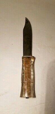 WW2/WWII Lucite Handle Theater Made Fighting Knife Trench Knife