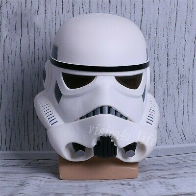Halloween Star Wars Helmet Cosplay The Black Series Imperial Stormtrooper Helmet