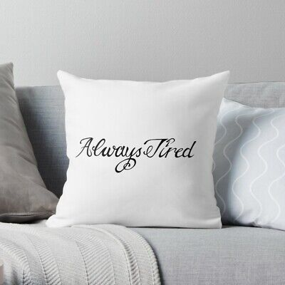 "Post Malone - Always Tired Pillow Case 16"" 18"", Gift Pillow Case"