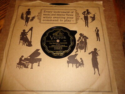 Victor Scroll 78/Arthur Pryor's Band/Margaret McKee&Billy Murray-Whistling/E!!!