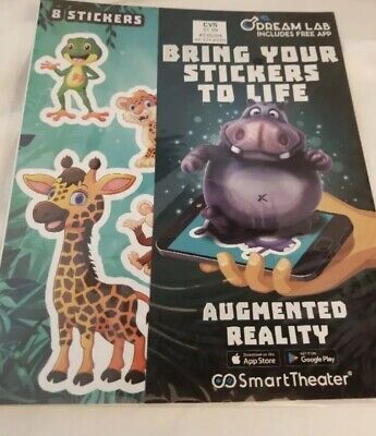 7 AUGMENTED REALITY Animal SMART PHONE ANIMATION Bring your stickers to life