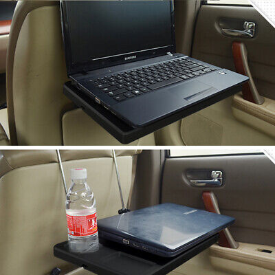 Foldable Car Back Seat Tray Table Desk Mount Dinner Food Drink For laptop IPAD