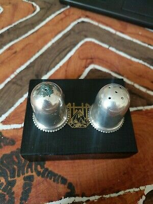 Vintage Regal Silver Plated Salt And Pepper Shakers