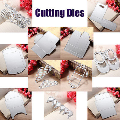 Metal Cutting Dies Embossing Stencils DIY Scrapbooking  Paper Craft Album Cutter