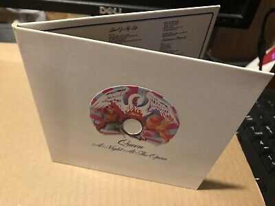 Queen A Night At The Opera Usa Cd Card Sleeve