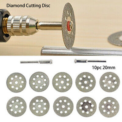 3.0mm Rotary Tool Accessories Saw Blades Diamond Cutting Disc Abrasive Tools