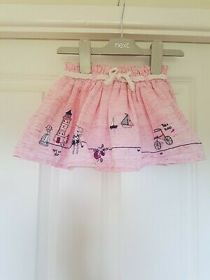 Next Baby Girls Mouse Skirt Age 3-6 Months