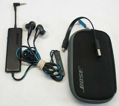 Bose QC20 Noise Cancelling In-ear Headphones - w/ Case for IOS Apple