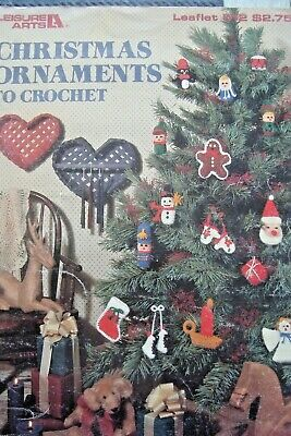 Christmas Ornaments To Crochet Pattern Booklet