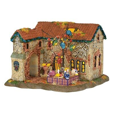 Dept 56 Halloween Day Of The Dead House 6003161 New 2019 Snow Village