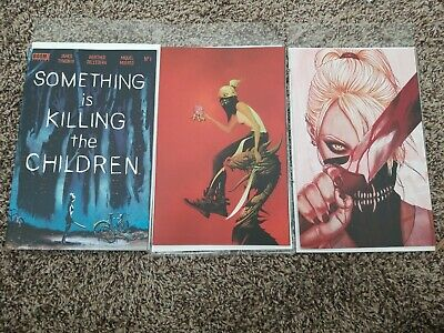 Something is Killing the Children #1 Cover Set of 3 NM Signed by James Tynion IV