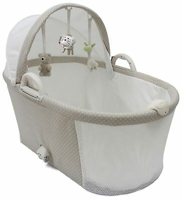 Purflo PURAIR BREATHABLE BASSINET SOFT TRUFFLE Baby Sleep - BN